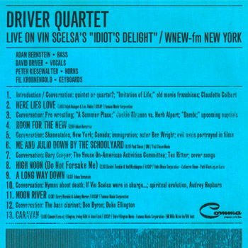 Driver Quartet - Live on Vin Scelsa's Idiot's Delight